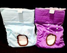Cute Bone Doggy Washable Female Dog Diapers Size XL  (Pack of 2) NWOT