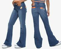 Her Universe Star Wars Han Solo Bell Bottom Flare Jeans Rainbow Size 0 1 3 5 7 9
