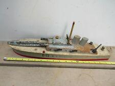 Keystone Wood Battleship Aircraft Launch 1940s Vintage