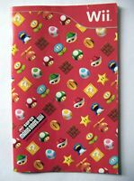 49665 Instruction Booklet - New Super Mario Bros. Wii - Nintendo Wii (2009) RVL-