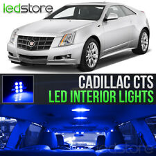 2008-2013 Cadillac CTS Blue LED Lights Interior Kit