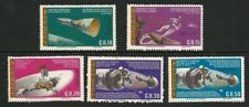 Paraguay 1966 - Exploration of the Moon (5) MNH - Complete Set