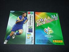 SHEVCHENKO UKRAINE OUKRAÏNA PANINI CARD FOOTBALL GERMANY 2006 WM FIFA WORLD CUP