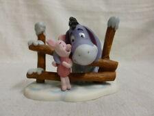 Walt Disney Winnie Pooh Friends Friendship Keeps You Warm Piglet Eeyore Figurine