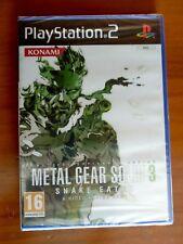 Metal Gear Solid 3: Snake Eater PS2 Pal España Precintado de fábrica