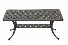 Heritage Outdoor Living Nassau Cast Aluminum Coffee Table - Antique Bronze