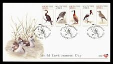 DR WHO 1997 SOUTH AFRICA FDC WORLD ENVIRONMENT DAY  C224785