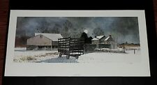 Peter Sculthorpe - Fallow Field - Collectible Pennsylvania Landscape Print