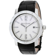 Bvlgari Bvlgari Automatic Off White Dial Mens Watch 102056