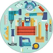 Werkzeug Set Heimwerker Eßbar Tortenaufleger Party Deko Axt Schreiner Tischler