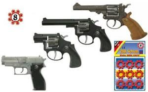 Pistole Waffe Schußwaffe Knarre Revolver Knallpistole Colt Spielzeugpistole FBI