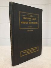 US NAVY WW2 ERA Charts Tables Navigation Sextant Nautical Guide Aviation