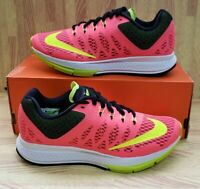 Womens Nike Air Zoom Elite 7 654444-601 Hyper Punch NEW Size 5