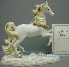 Lenox Princeton Gallery Yuletide Bliss Unicorn New in Box Never Displayed