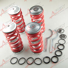 For 93-99 VW Golf Adjustable Coil Coilover Spring CNC Machined Aluminum Sleeves