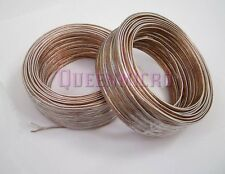 2 Pack - 100Ft 22AWG Gauge Quality Speaker Wire Home Car Audio Cable (2 Rolls)