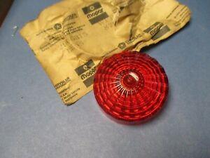 LENS FOR SIDE MARKER LAMP N.O.S.63-74 DODGE TRUCK S  2906315
