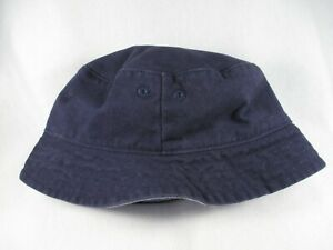 Janie and Jack Reversible Baby Child 2T - 3 Blue Bucket Cap Hat