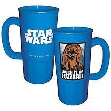 Star Wars Chewbacca Image Laugh It Up, Fuzzball 22 oz Plastic Stein NEW UNUSED
