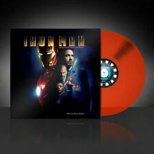 Iron Man Soundtrack Vinyl LP Marvel Red Vinyl Limited 500 Zavvi Exclusive Sealed