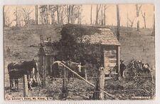 VINTAGE POSTCARD A SELECTOR'S HOME, MT. KILCOY QLD 1909