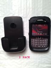 BlackBerry Curve 9300 9330 8530 8520 Otterbox Defender Case Holster  2 PACK