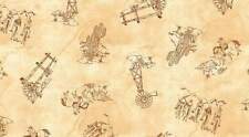 WESTERN ALBUM 7385 04 Ivory Quilt Fabric BTY from Blank Quilting