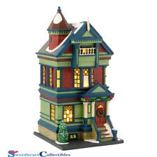Department 56 Christmas In the City 755 Pacific Heights Limit Ed.