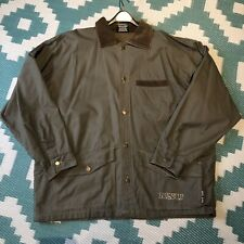 North Shore Underground Barn Field Chore Coat Jacket Canvas Corduroy Collar Lg