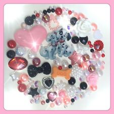 Disney 101 Dalmations Theme Cabochons Gems & pearls flatbacks For decoden crafts