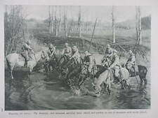 1916 FRENCH DRAGOONS LANCE SWORD & CARBINE; GENERAL JOFFRE & BALFOURIER WWI WW1