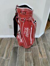 coca cola golf bag
