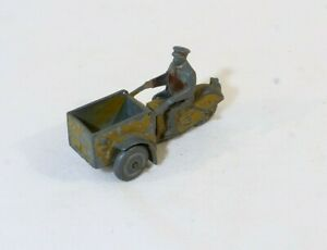 Dinky Toys F 14A Scooter Version With Wheels Zamac