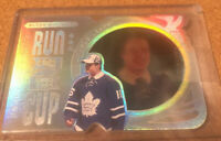 2016-17 Upper Deck Black Diamond Auston Matthews Run For The Cup 20/99