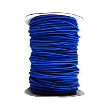 4mm x 1 Meter Blue Elastic Bungee Rope Shock Cord Tie Down Boats Trailers