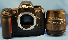 Nikon D100 6.1MP Digital Camera w/ AF Quantaray 28-90d macro aspherical