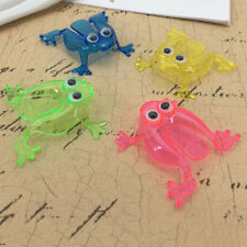 10PCS Jumping Frog Hoppers Game Kids Party Favor Kids Birthday Party Toy EO