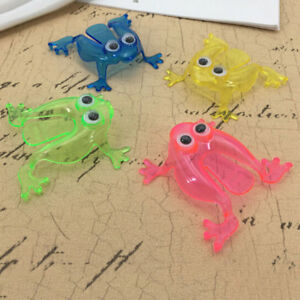 10PCS Jumping Frog Hoppers Game Kids Party Favor Kids Birthday Party Toy YXBI