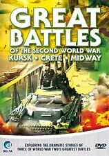 Great Battles Of The Second World War - DVD - BRAND NEW SEALED (MS)