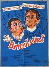 Plakat die Bastler-Modelle Jean Girault Francis Blanche Darry Cowl 60x80cm