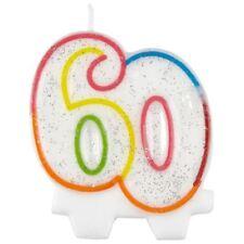 Milestone 60 60th Candela Di Compleanno Decorazione Per Torta Topper