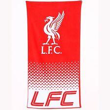 LIVERPOOL FC FADE BEACH & BATH TOWEL NEW & OFFICIAL