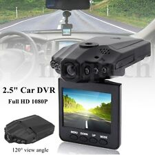 "2.5"" Full HD 1080P Car DVR Vehicle Camera Video Recorder Night Vision Dash Cam"