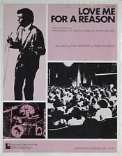 Osmonds Sheet Music, 1974 - Love Me For A Reason