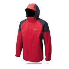 Cappotti e giacche da uomo rossi con cappuccio