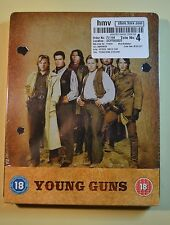 Young Guns Steelbook Bluray UK Edition Region B New and Sealed
