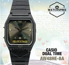 Casio Analog Digital Dual Time Watch AW48HE-8A