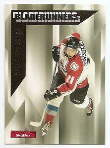 96/97 SKYBOX IMPACT BLADERUNNERS Hockey (#1-25) U-Pick From List