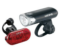 Cateye El135/Omni 5 Light Set Bike Bicycle Rear Front Head Tail Lights Lamp Led