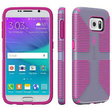 Speck CandyShell Grip Case for Samsung Galaxy S6 - Grey/Pink + TP